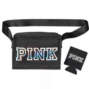 VS PINK Cooler Lunch Box w/ Koozie Brand New!